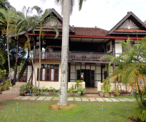 Traditional Lao Hotel
